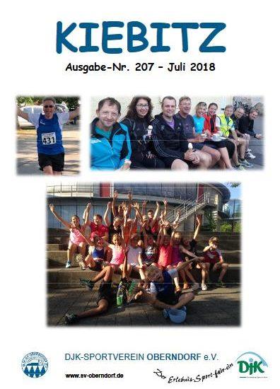 Kiebitz 207 – Juli 2018